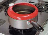 170℃の天ぷら油で加熱